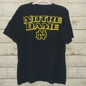 Adidas Notre Dame Tee Size Large
